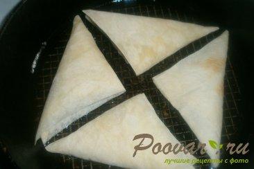 Пирожки из лаваша с курицей и горохом Шаг 17 (картинка)