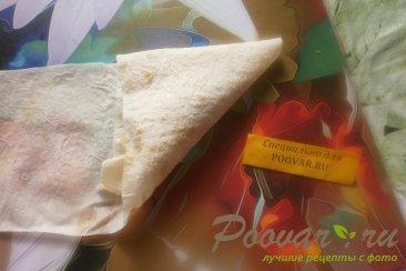 Пирожки из лаваша с курицей и горохом Шаг 15 (картинка)