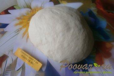 Лепёшки с сыром из дрожжевого теста Шаг 3 (картинка)