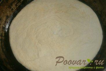 Лепёшки с сыром из дрожжевого теста Шаг 12 (картинка)