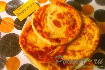 Лепёшки с сыром из дрожжевого теста Шаг 15 (картинка)