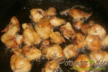 Куриные хвостики (гузки) с помидорами Шаг 8 (картинка)