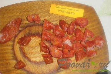 Куриные хвостики (гузки) с помидорами Шаг 10 (картинка)