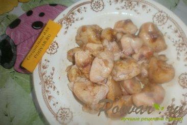 Куриные хвостики (гузки) с помидорами Шаг 4 (картинка)