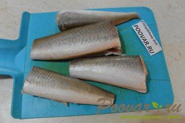 Рыба с овощами в мультиварке Шаг 1 (картинка)