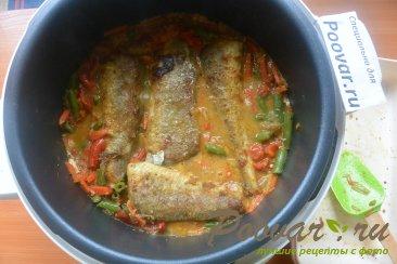 Рыба с овощами в мультиварке Шаг 14 (картинка)