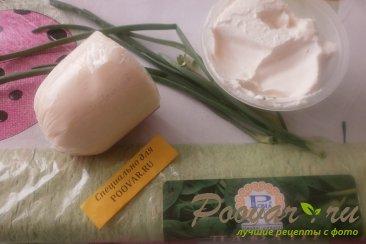 Закуска из лаваша с сыром и вяленой клюквой Шаг 1 (картинка)