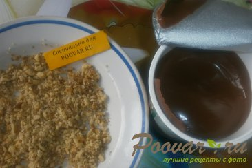 Лаваш с шоколадной пастой и орехами Шаг 12 (картинка)