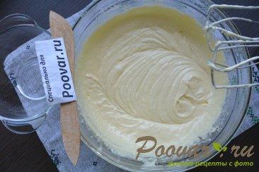 Бисквитный торт с кремом из сгущенки и сливочного сыра Шаг 3 (картинка)