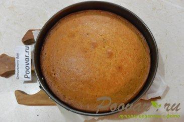 Бисквитный торт с кремом из сгущенки и сливочного сыра Шаг 8 (картинка)