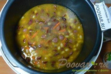 Фасоль с колбасками в мультиварке Шаг 8 (картинка)