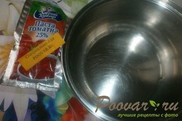 Томатные лепёшки с сыром на сковороде Шаг 1 (картинка)