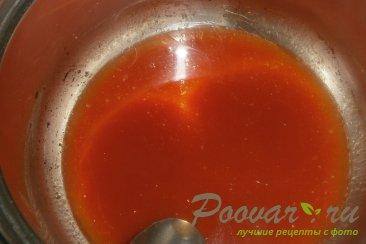 Томатные лепёшки с сыром на сковороде Шаг 6 (картинка)