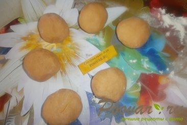 Томатные лепёшки с сыром на сковороде Шаг 11 (картинка)