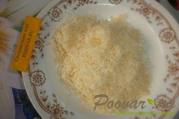 Томатные лепёшки с сыром на сковороде Шаг 10 (картинка)