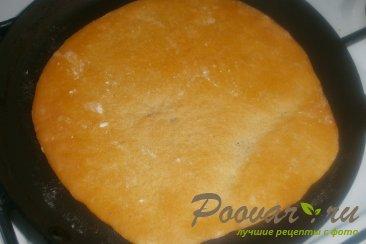 Томатные лепёшки с сыром на сковороде Шаг 13 (картинка)