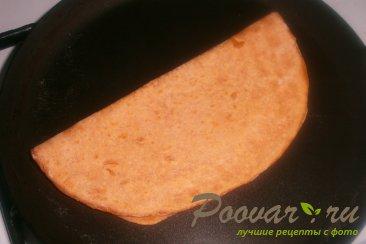 Томатные лепёшки с сыром на сковороде Шаг 16 (картинка)
