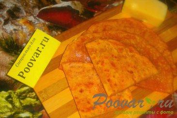 Томатные лепёшки с сыром на сковороде Шаг 19 (картинка)