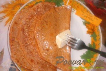 Томатные лепёшки с сыром на сковороде Шаг 17 (картинка)