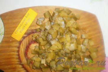 Картофельный салат с квашеной капустой с хреном Шаг 4 (картинка)