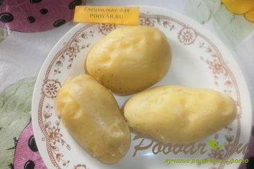 Картофельный салат с квашеной капустой с хреном Шаг 6 (картинка)