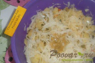 Картофельный салат с квашеной капустой с хреном Шаг 12 (картинка)