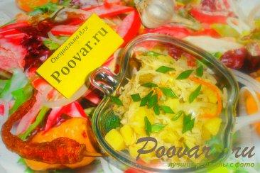Картофельный салат с квашеной капустой с хреном Шаг 15 (картинка)