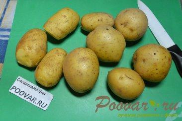 Картошка по-деревенски в духовке Шаг 1 (картинка)