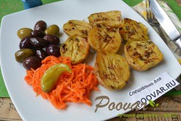 Картошка по-деревенски в духовке Изображение