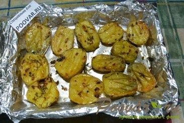 Картошка по-деревенски в духовке Шаг 6 (картинка)