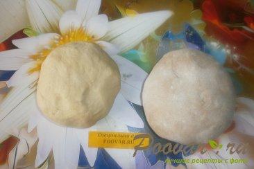 Мраморное тесто для вареников Шаг 7 (картинка)