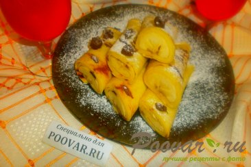 Блинчики с бананом Шаг 16 (картинка)