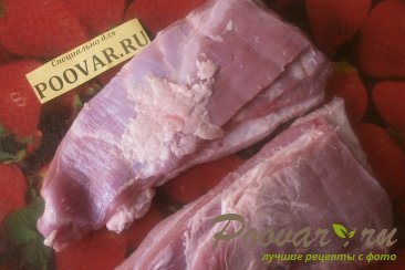 Свиная грудинка в рукаве Шаг 2 (картинка)