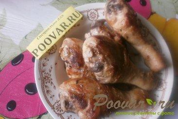 Куриные голени с овощами в духовке Шаг 7 (картинка)