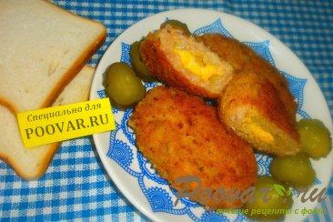 Зразы куриные с луком и сыром Изображение