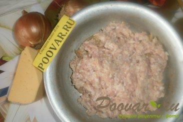Зразы куриные с луком и сыром Шаг 1 (картинка)