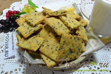 Печенье крекер Изображение