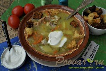 Гороховый суп с мясом в мультиварке Изображение