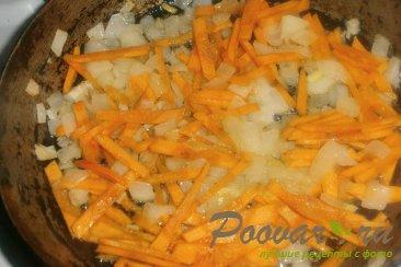 Постный суп с грибами и зелёным горошком Шаг 7 (картинка)