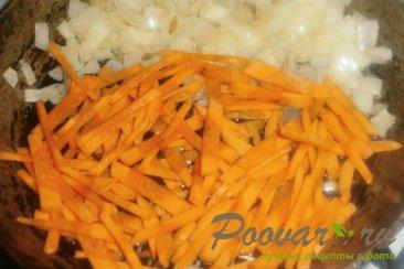 Постный суп с грибами и зелёным горошком Шаг 6 (картинка)