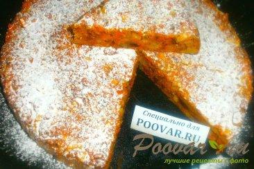 Морковный пирог с яблоками Изображение