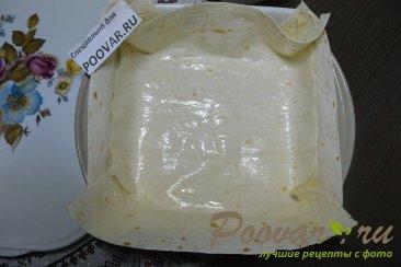 Заливной пирог из лаваша с творогом Шаг 8 (картинка)
