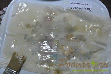 Заливной пирог из лаваша с творогом Шаг 10 (картинка)