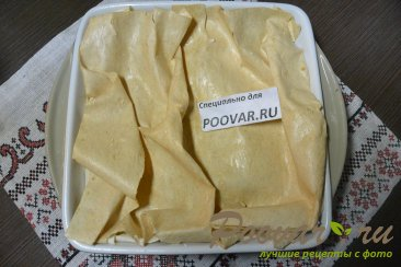 Заливной пирог из лаваша с творогом Шаг 13 (картинка)