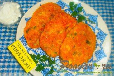 Оладьи из тыквы с сыром Изображение