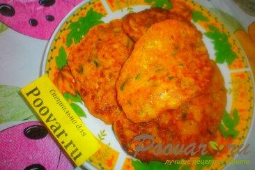 Оладьи из тыквы с сыром Шаг 11 (картинка)