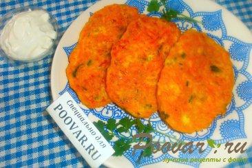 Оладьи из тыквы с сыром Шаг 12 (картинка)