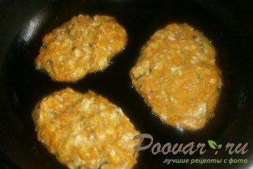 Оладьи из тыквы с сыром Шаг 9 (картинка)