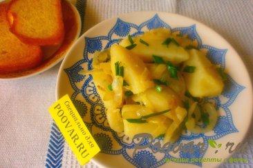 Отварной картофель с луком Шаг 12 (картинка)