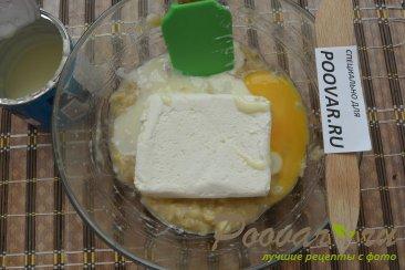Пирог с творогом и бананами Шаг 3 (картинка)